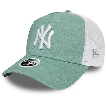 New Era Damen Trucker Cap - JERSEY New York Yankees grün