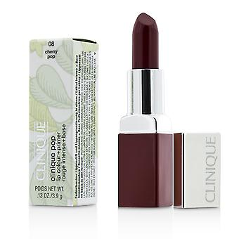 Cor labial pop clinique + primer # 08 cherry pop 188264 3.9g/0.13oz