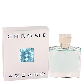 Chrome Eau De Toilette Spray By Azzaro   418649 50 ml