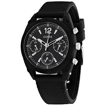 Guess Women's Classic Black Watch - W1296L2