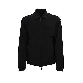 Dsquared2 S74am0997s52786900 Men's Black Nylon Outerwear Jacket