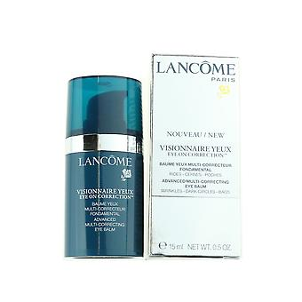 Lancome Visionnaire Yeux Avanzate Multi-Correcting Eye Balm .5oz/15ml Nuovo In Box