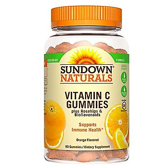 Sundown naturals vitamin c gummies, orange, 90 ea