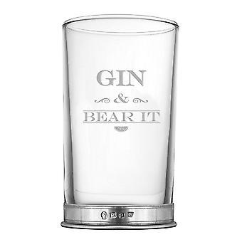 Gin & Hiball Geist Glas - 12oz zu tragen