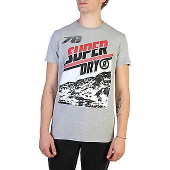 Superdry Original Männer ganzjahre T-Shirt - grau Farbe 37632