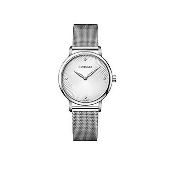 Wenger ladies Quartz analogue watch with stainless steel band 01.1721.107