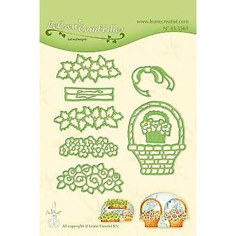 LeCrea - Lea'bilitie Flower basket Cut and Embossing Die 45.3561
