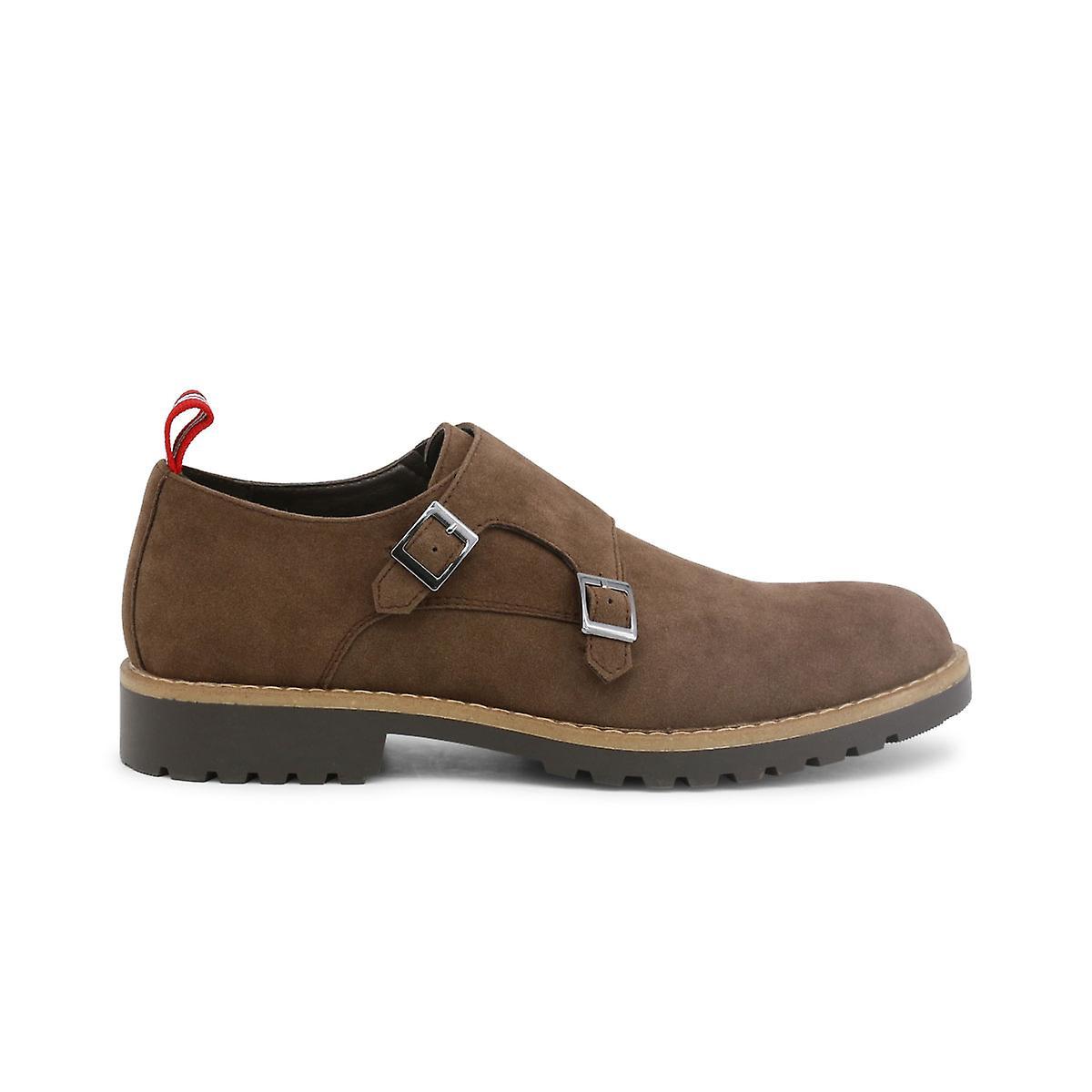 Duca di Morrone Original Men Automne/Winter Flat Shoe - Brown Color 30383