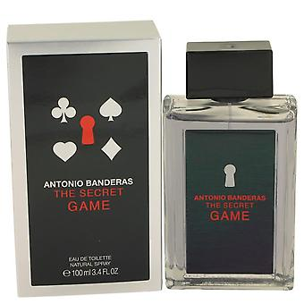 The Secret Game Eau De Toilette Spray By Antonio Banderas 3.4 oz Eau De Toilette Spray