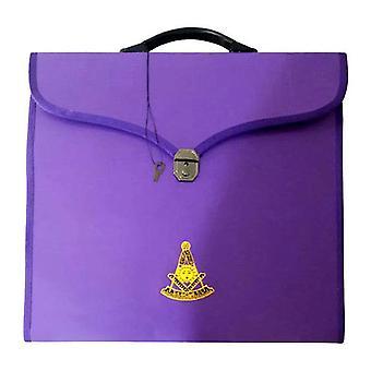 Masonic mm/wm and provincial full dress purple cases ii
