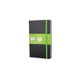Moleskine evernote notebook pocket squared color black