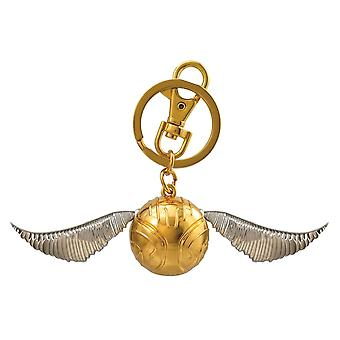 Harry Potter Snitch Pewter Keychain