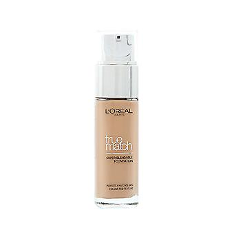 3 x L'Oreal Paris New True Match Foundation 30ml - Various Shades