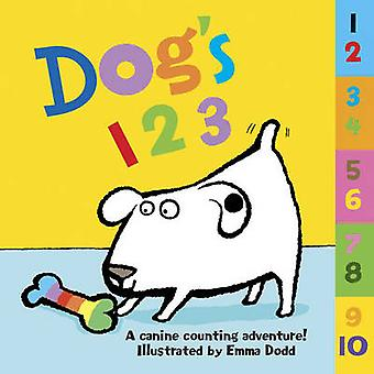 Dog's 123 - A Canine Counting Adventure! by Emma Dodd - 9781861476982
