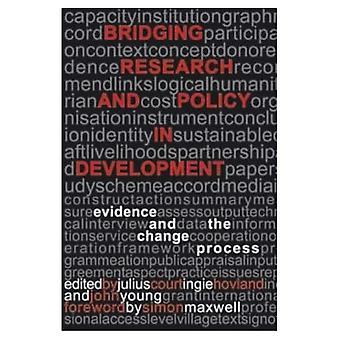 Överbryggande forskning och politik i utveckling: bevis och förändringsarbetet