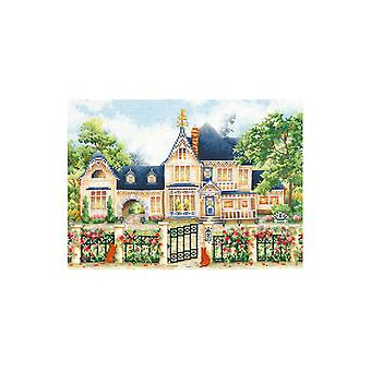 Andriana Cross Stitch Kit - English Manor