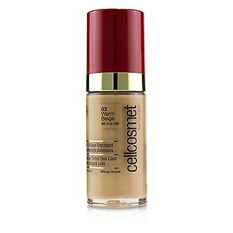 Cellcosmet & Cellmen Cellcosmet CellTeint Plumping Cellular Tinted Skincare - #03 Warm Beige 30ml/1.1oz