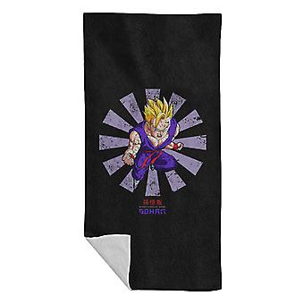 Gohan Dragon Ball Z Retro Japanese Beach Towel
