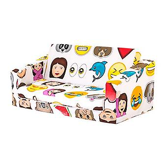 Emoji Children's 'Lily' Foam Fold Out Sofa Bed Lounger