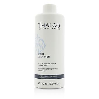 Eveil a la mer beautifying tonic lotion (face & eyes) for all skin types, even sensitive skin (salon size) 209913 500ml/16.9oz