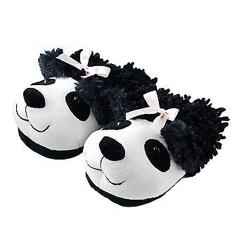 Animal World - Panda Bulanık Arkadaşlar Unisex Yetişkin Boy Terlik