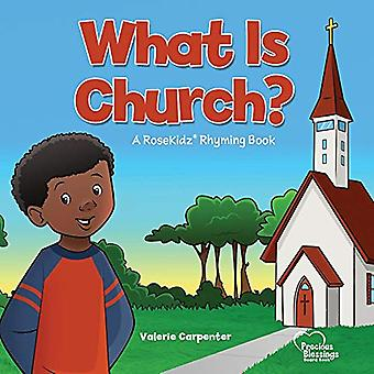 Kidz - What Is Church? Board Book by Valerie Carpenter - 9781628628371