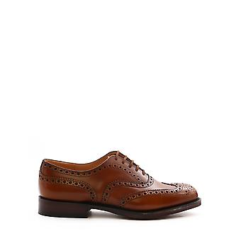 Church's Eeb0029xvf0aan Men's Brown Leather Lace-up Shoes