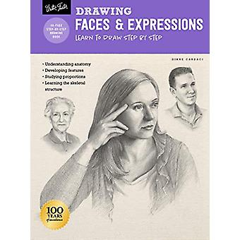 Drawing - Faces & Expressions - Learn to draw step by step by Diane