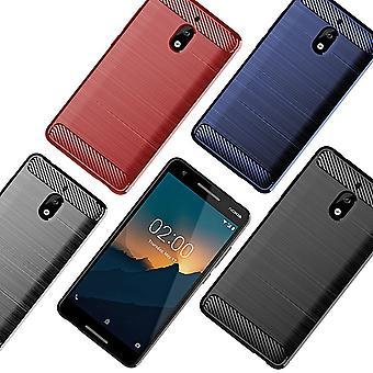 Nokia Phone Case Cover TPU Case Protective Case Phone Bumper Carbon Optic Sheath