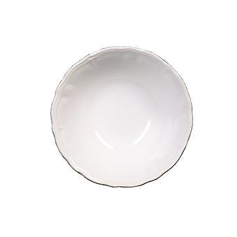 Piatti Katherine Colore Bianco in Stoneware, L15,5xP15,5 cm