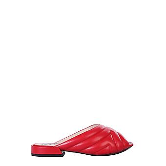 N°21 N220i804301570300 Dames's Red Leather Sandals