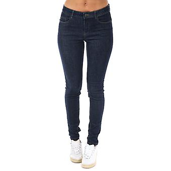 Mujeres's Vero Moda Seven Shape Up Skinny Jeans en Azul