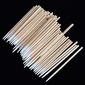 100 Pcs Disposable Ultra Small Brushes Swab - Lint Free