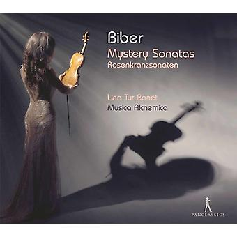 Biber / Musica Alchemica / Bonet - Mystery Sonatas [CD] USA import