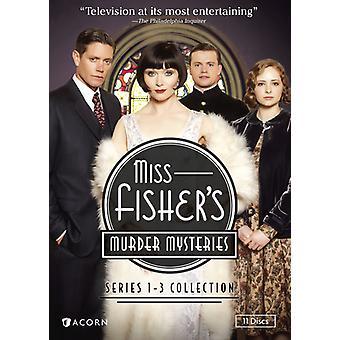 Miss Fisher's Murder Mysteries: Series 1-3 [DVD] USA import