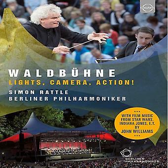 Importación de Simon Rattle - Filarmónica de Berlín - los E.e.u.u. Waldbuhne 2015 desde Berl [DVD]