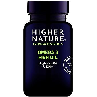 Higher Nature Omega-3 Fish Oil Capsules 90 (FIS090)