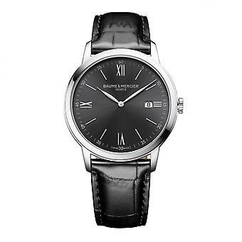 Baume & Mercier BM0A10416 Classima Black Dial Wristwatch