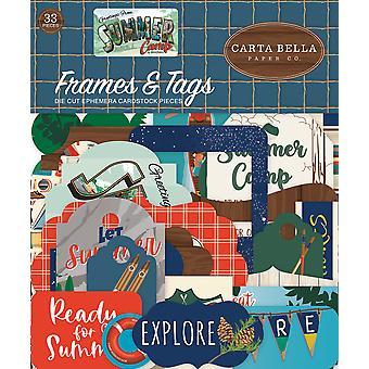 Carta Bella Summer Camp Frames & Etiquetas