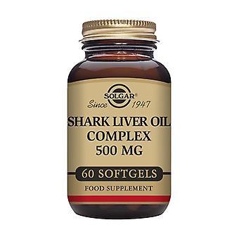 Shark Liver Oil Complex 60 capsules (500mg)