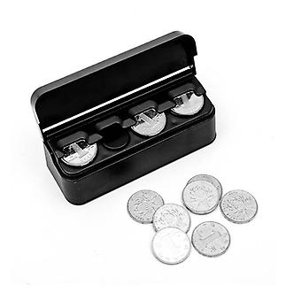 Creative Car Coin Holder - Euro Money Saver & Dispenser