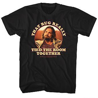 Big Lebowski dat tapijt echt bond de kamer samen T-shirt