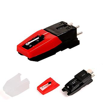 2 Pcs Cartridge With Stylus For Phonograph - Turntable Gramophone Record Player