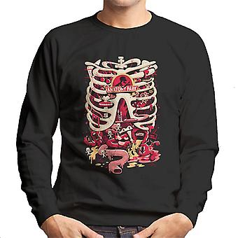 Rick and Morty Anatomy Park Rib Cage Men's Sweatshirt