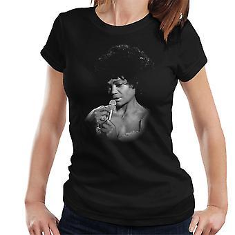 TV kertaa laulaja Eartha Kitt 1973 naisten t-paita