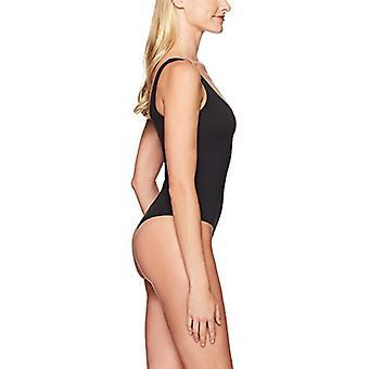 العلامة التجارية - ماي المرأة & apos;ق سكوب الرقبة ثونغ بوديبدلة، أسود، X-Large