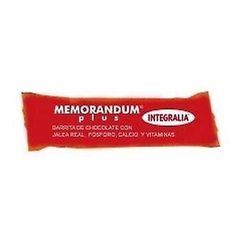 Memorandum Plus bar 1 bar of 30g