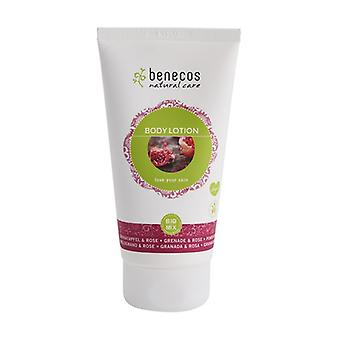 Pomegranate and Rose Body Lotion 150 ml of cream (Pomegranate - Roses)