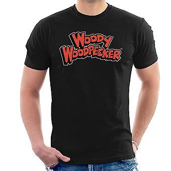 Woody Woodpecker Red Logo Men's T-Shirt
