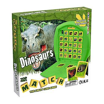 Dinosaurs Top Trumps Match - The Crazy Cube Game